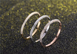 Ladies stainless steel bangles jewelry-620004