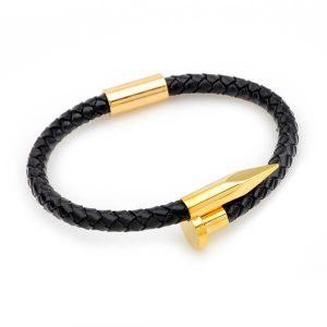 Leather Nail Bracelets