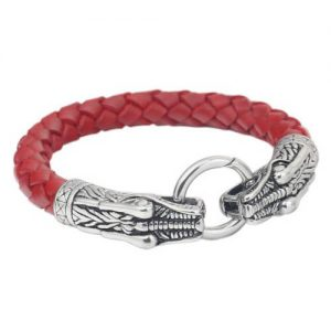 Dragon Leather Bracelet for Mens