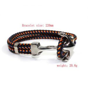 anchor rope bracelet mens
