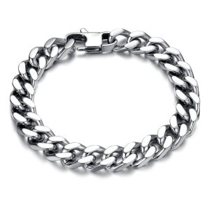 titanium steel bracelet for men