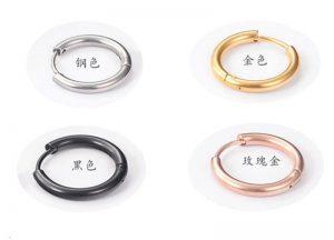 girls stainless steel earrings