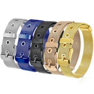 Stainless Steel Mesh Armband Bracelet
