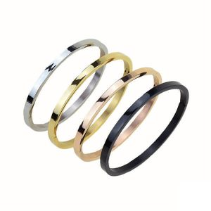 Women's Stainless Steel Armband Bangle IP Plating