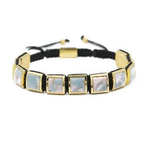 copper micro-set hand-woven bracelet