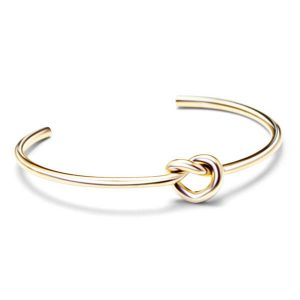 open titanium rose gold bracelet