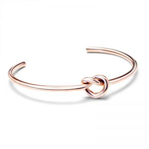 Stainless Steel Love Cuff Knot Bracelet